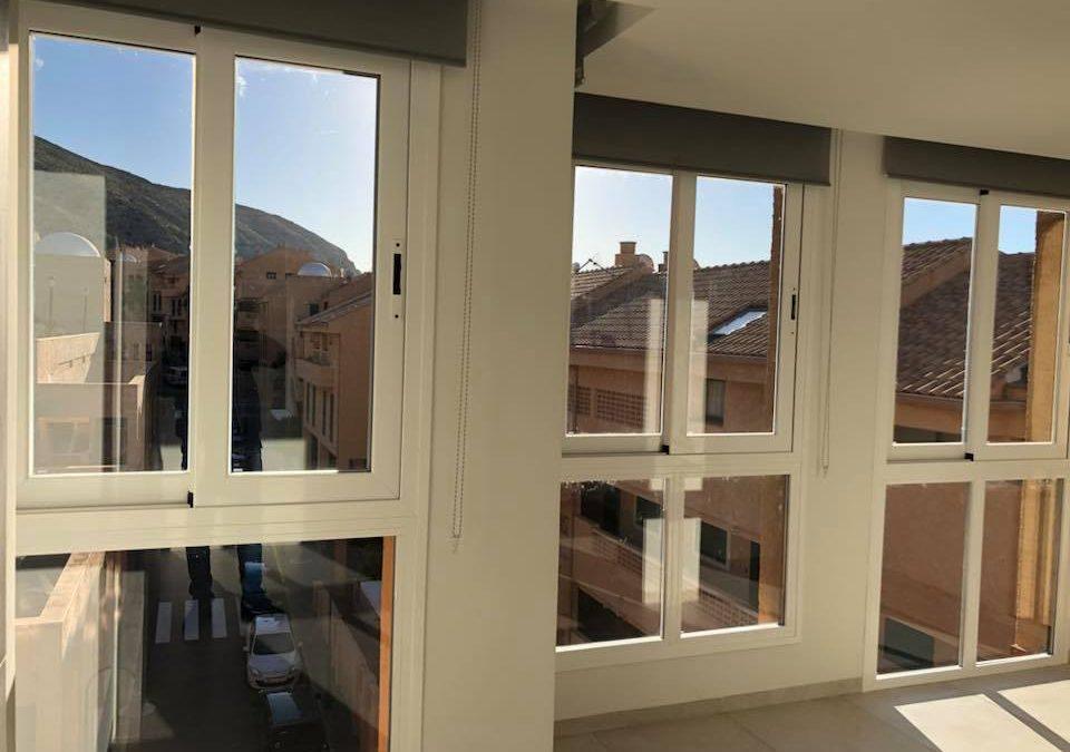 Carpintería aluminio para DELUX HOUSE